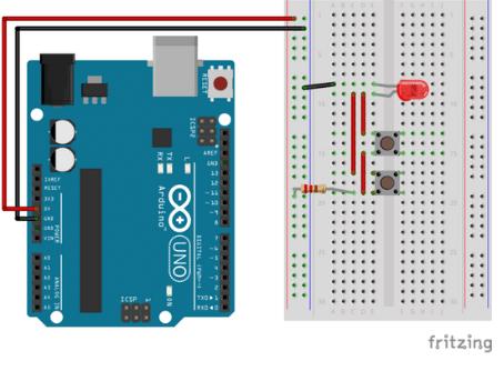 Circuito em paralelo com Arduino
