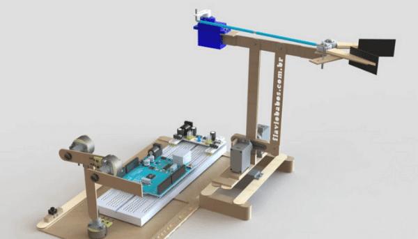 Novo Braço Robótico Arduino