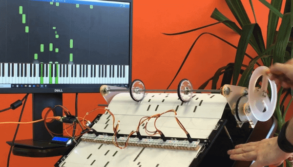 projeto arduino barrel piano