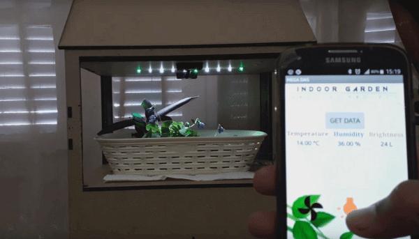 Projeto cultivador de plantas com arduino