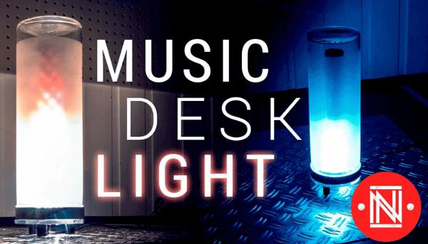Projeto luminária de mesa
