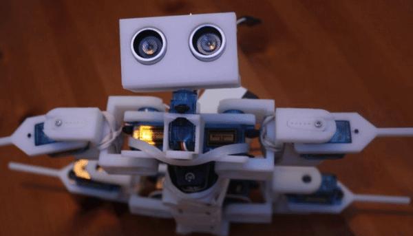 Projeto robo de locomoção com Arduino