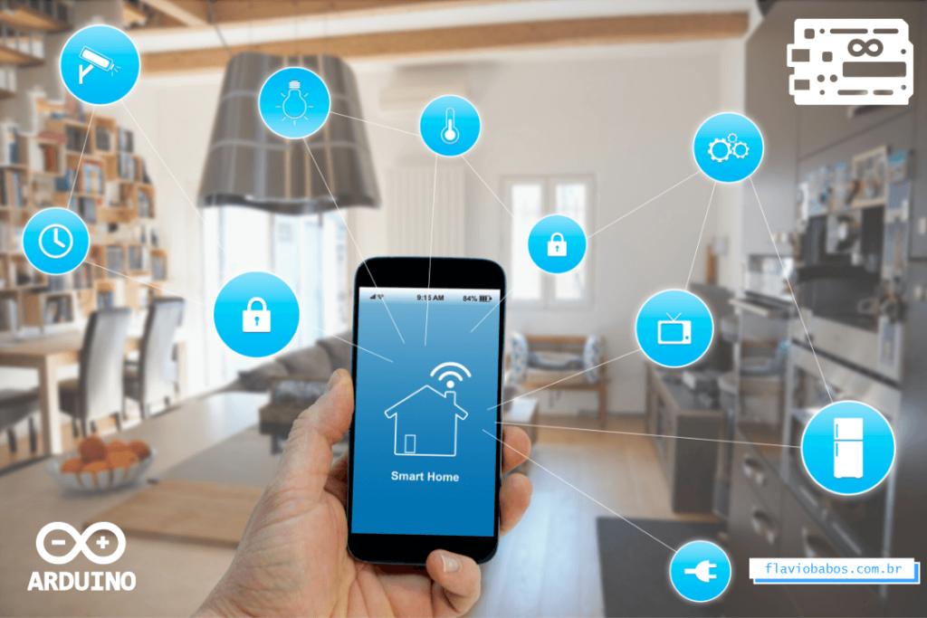 Monte sua casa inteligente com a internet das coisas