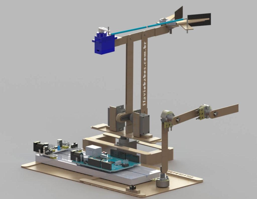 Como fazer um Braço Robotico