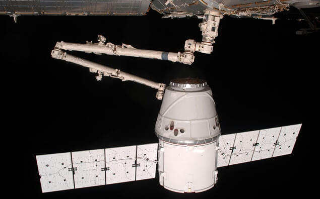 Braço Robótico Utilizado em naves espaciais
