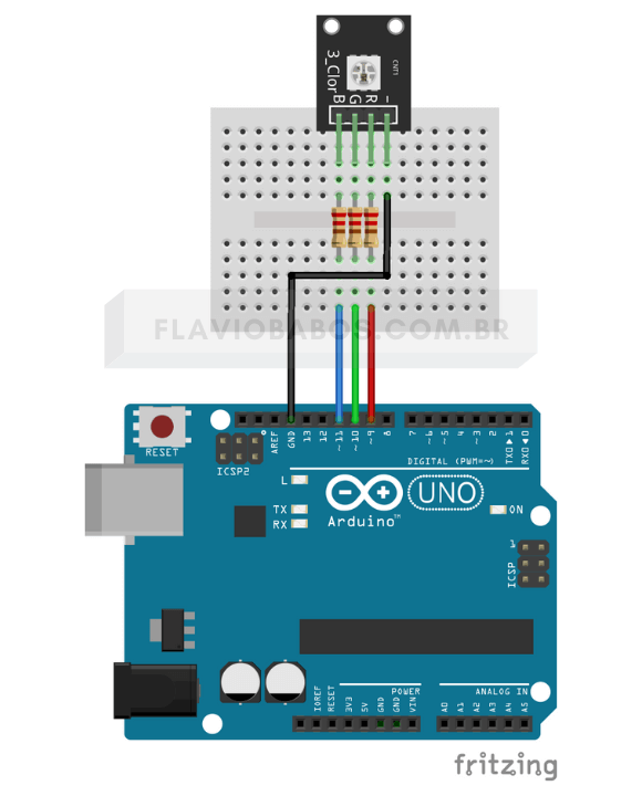 LED PWM Arduino