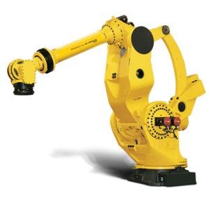 Curso de Robótica Industrial usando robôs FANUC