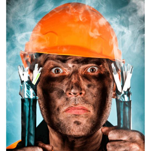 Cuidado com choque eletrico e acidentes com eletricidade