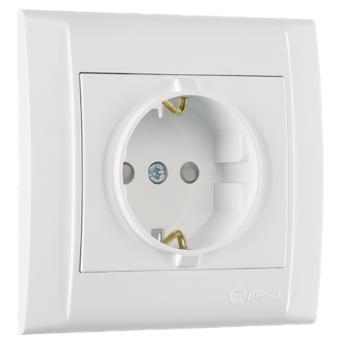 Tomada de proteção contra choques elétricos