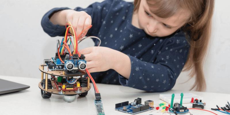 O que se aprende em robótica