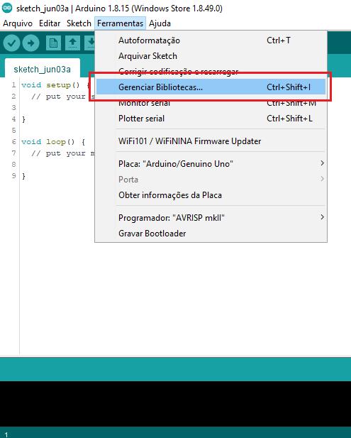 Biblioteca do Display LCD 16x2 na IDE do Arduino