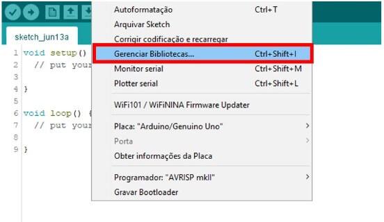 Como adicionar biblioteca na IDE do Arduino
